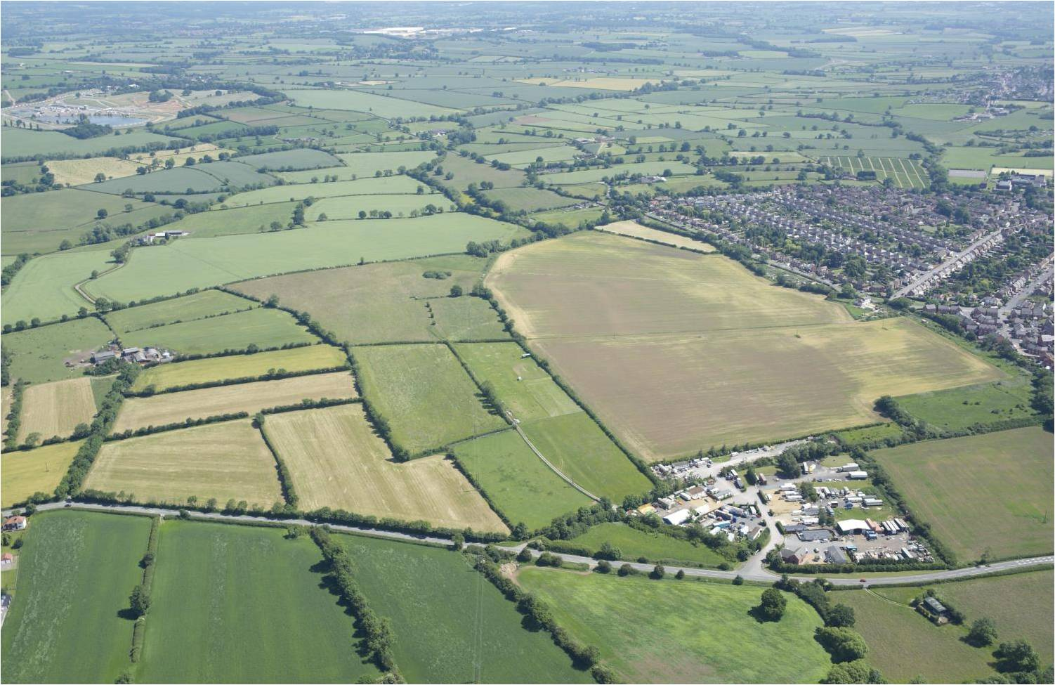 Purchased Land Aerial View